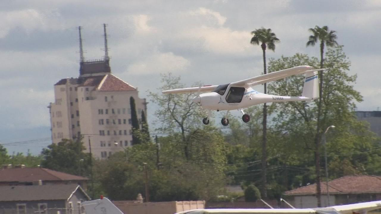 Electric planes put the valley on cutting edge of technology