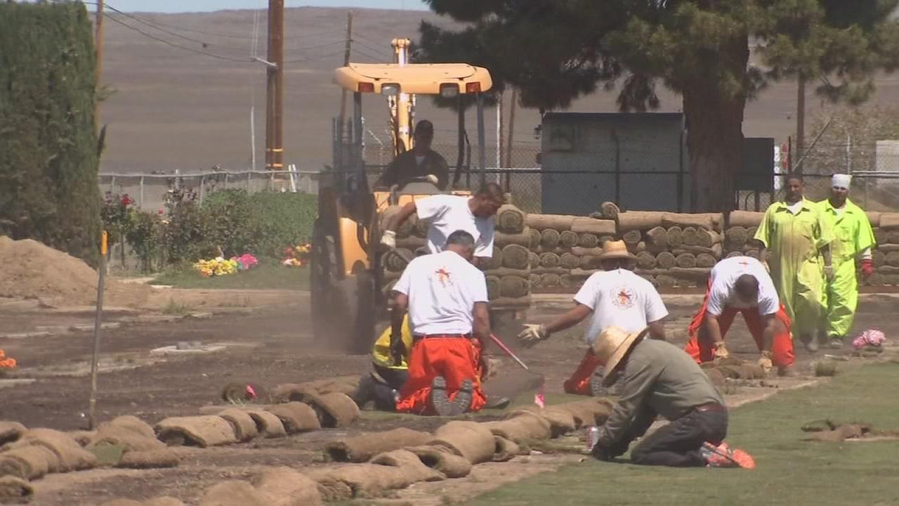 After years of setbacks, Coalinga cemetery is improving