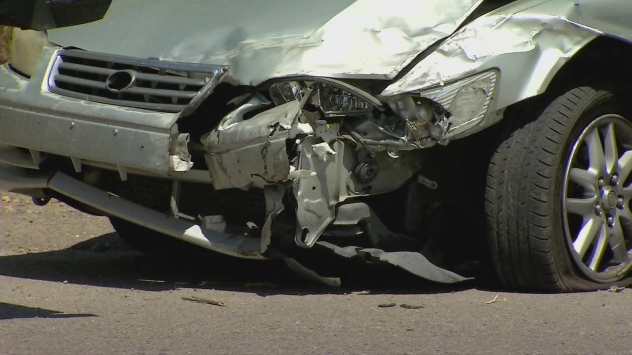 Car theft suspects arrested after crash near Visalia