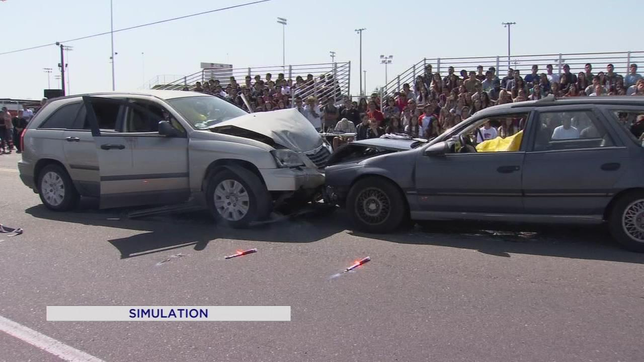 Program shows teens dangers of driving drunk