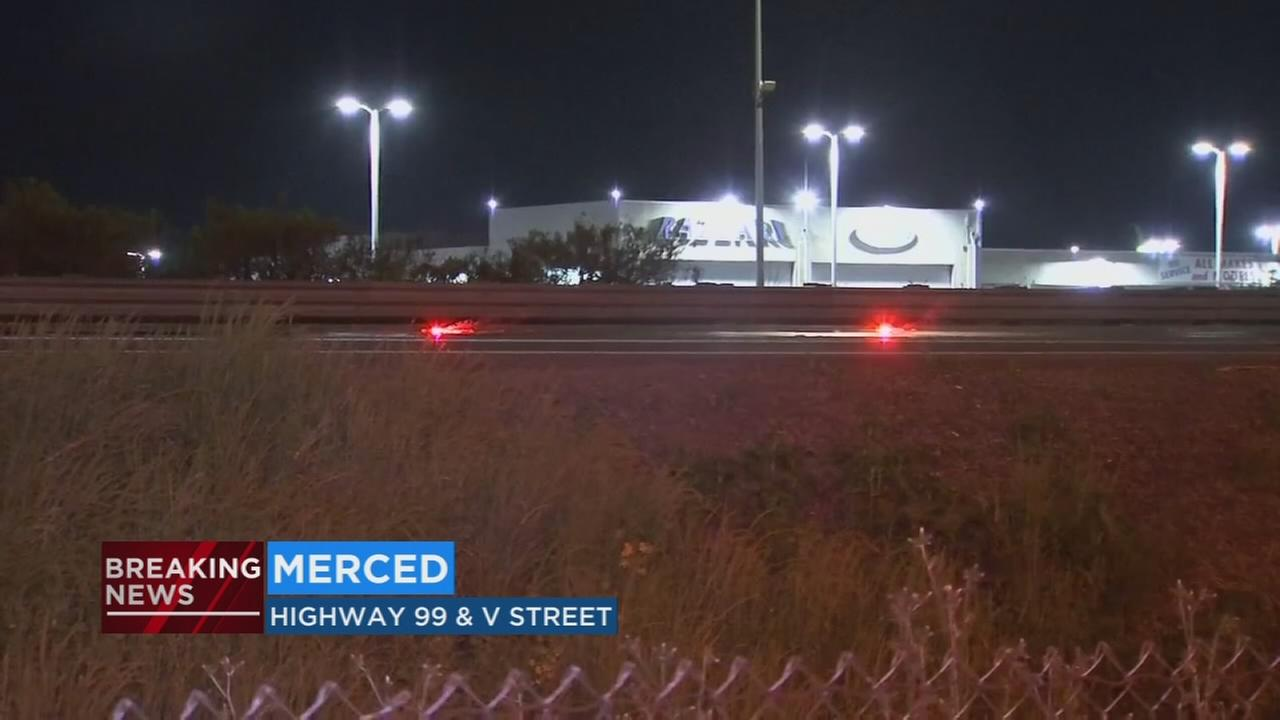 CHP investigating after man hit and killed in Merced