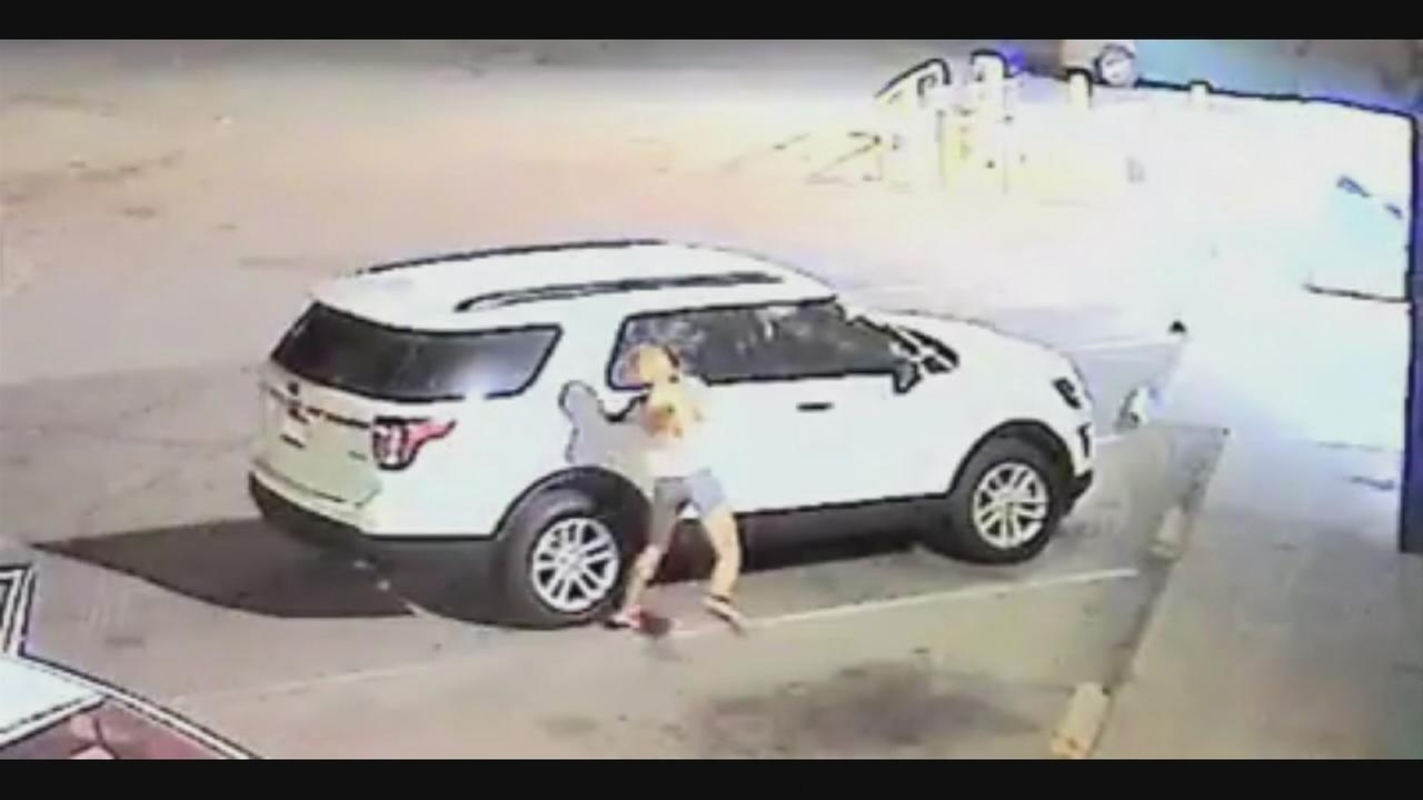 Fresno Police looking for vehicle burglary suspect