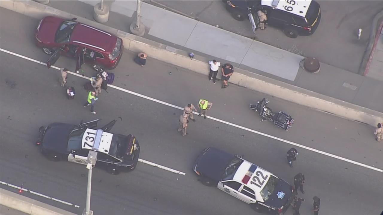 CHP officer dragged during routine traffic stop near Bay Bridge
