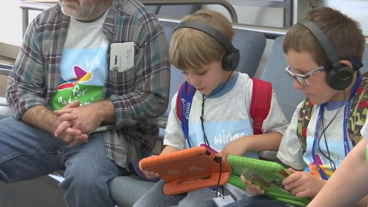 Special program launches a second time, preparing autistic kids to take flight