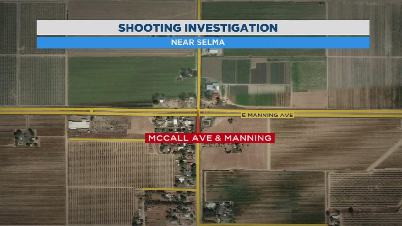 Sheriffs deputies searching for suspect after man shot outside Selma home