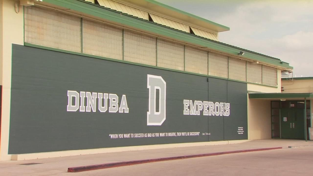 Dinuba High alumni upset by a mural cover-up on campus