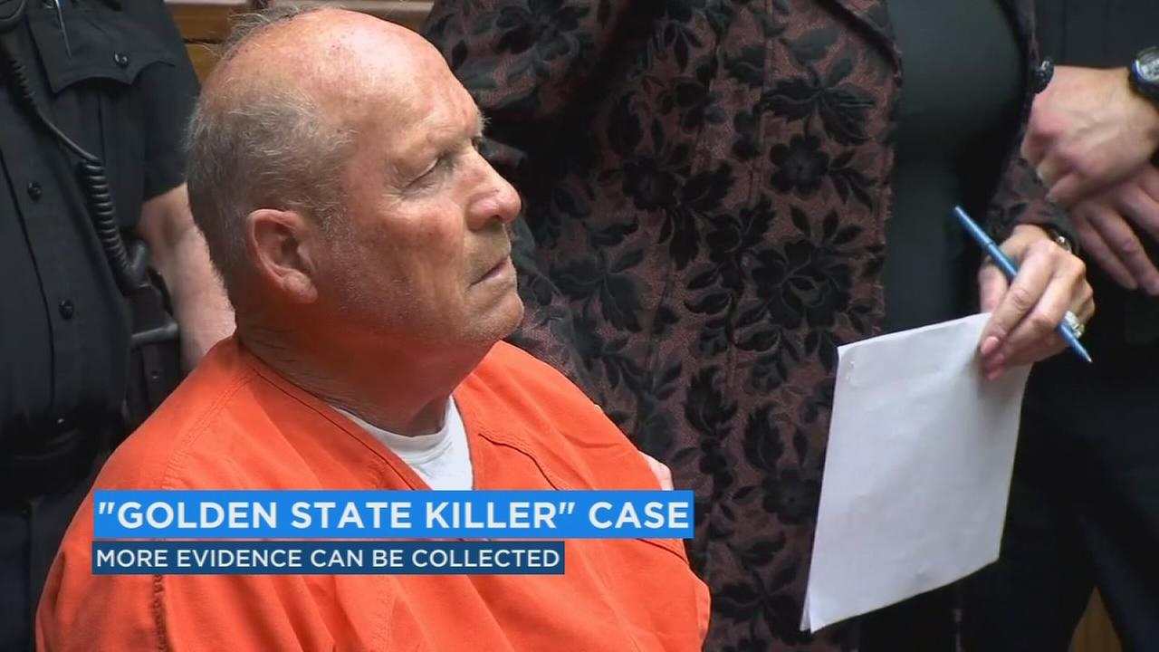 Judge OKs additional DNA collection in Golden State Killer case