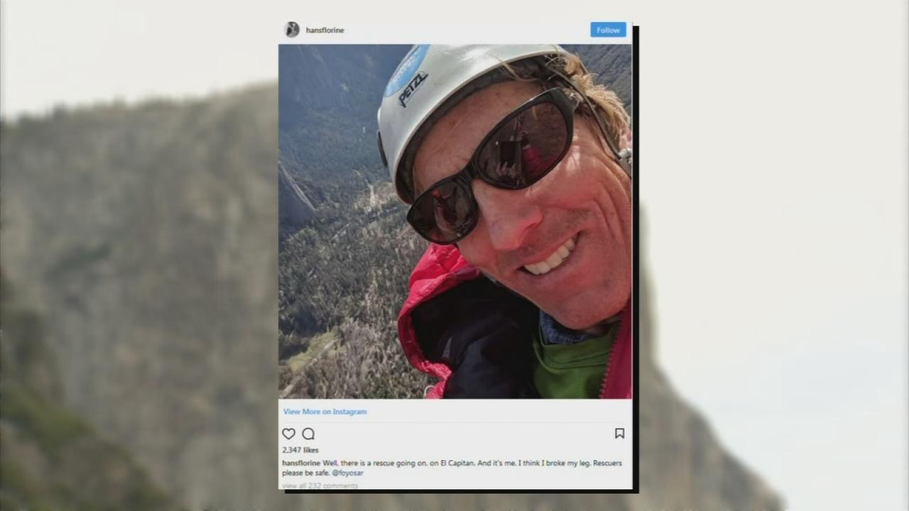 World-renowned climber rescued from Yosemites El Capitan