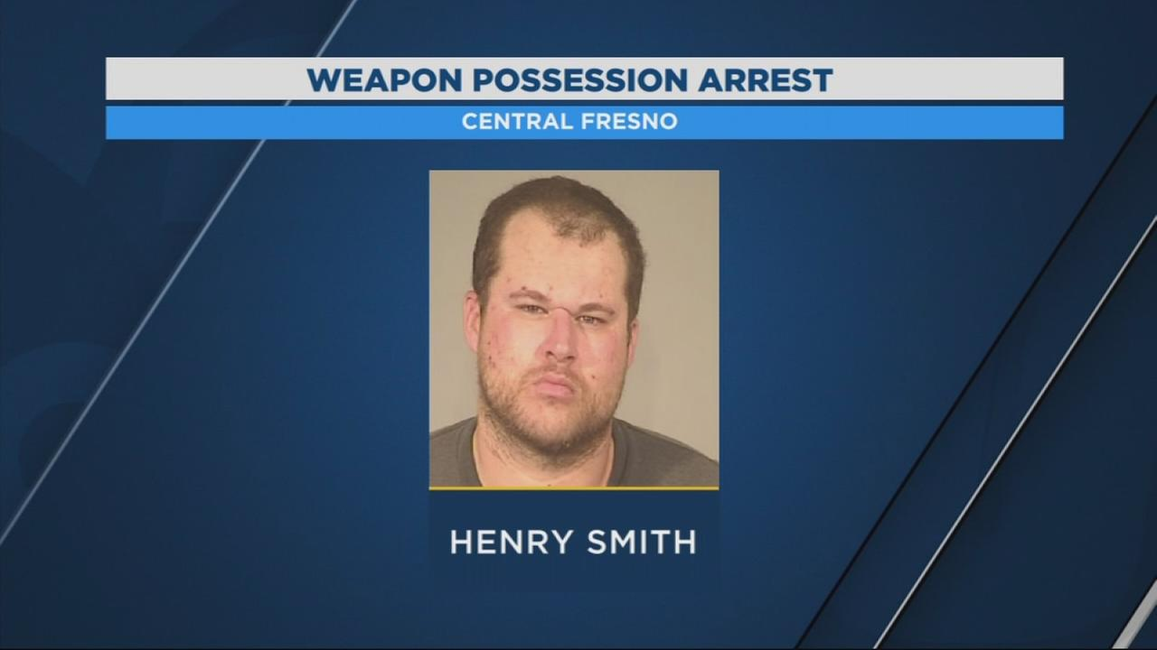 Man in custody after leading police on short chase while carrying loaded gun