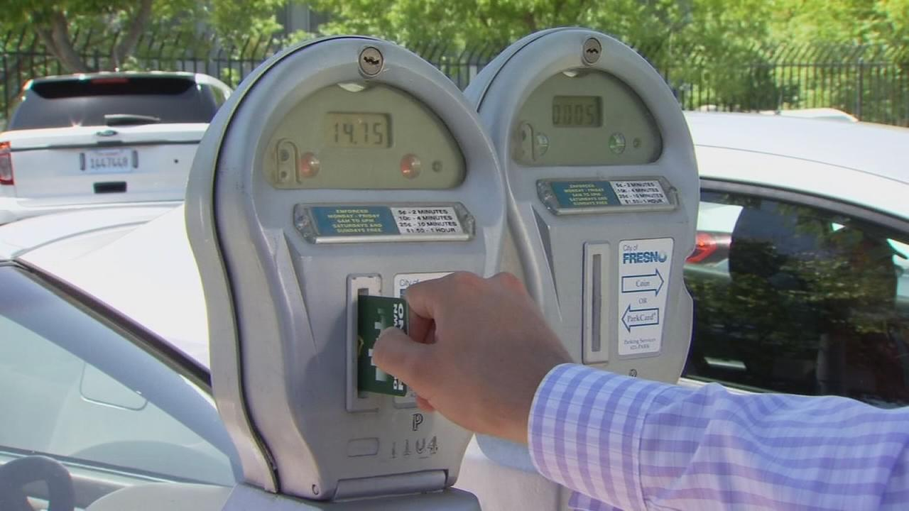 Parking Downtown? A $3 card could keep you from having to find change