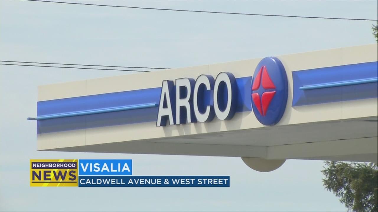 Visalia votes to allow Arco gas station