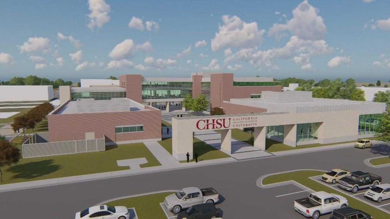 California Health Sciences University breaks ground on future Clovis campus