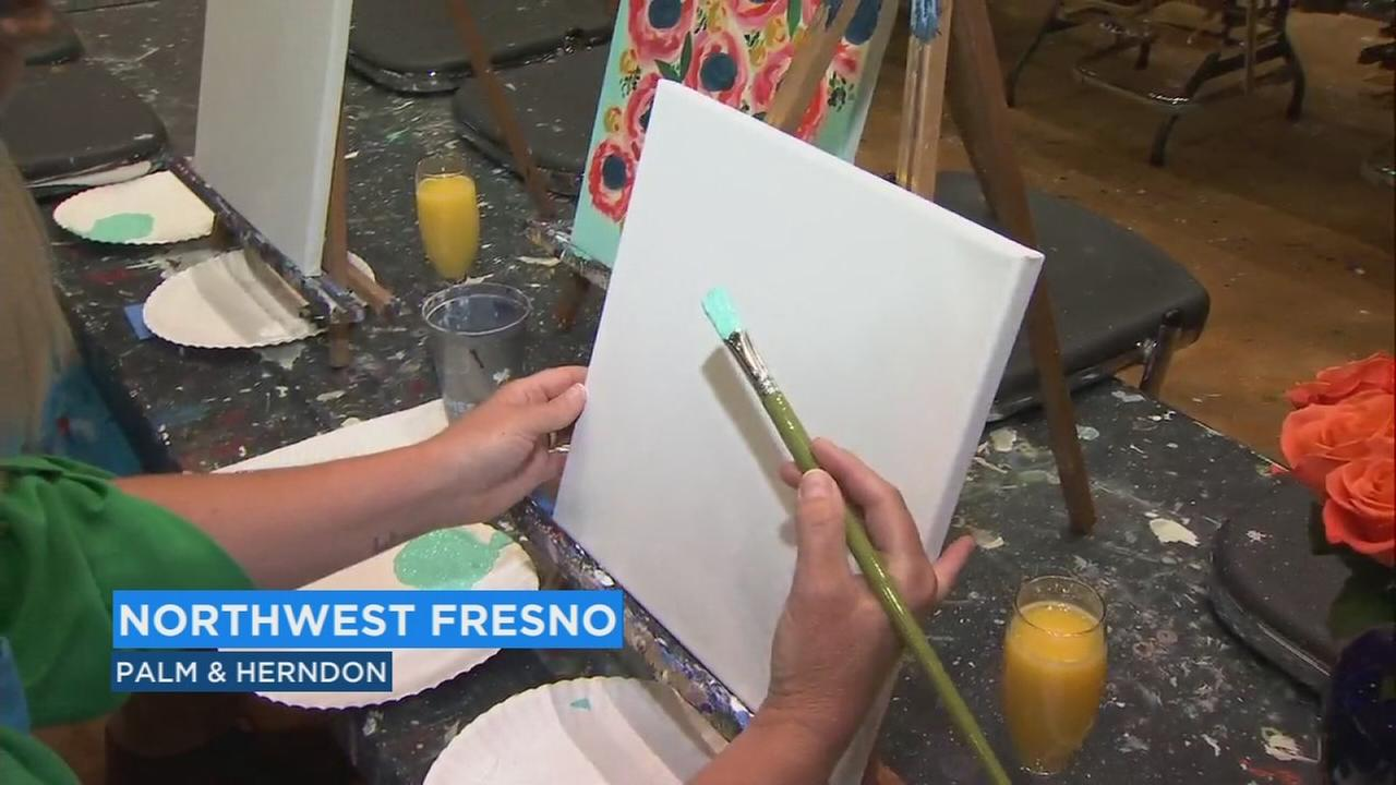 Pintos Palette in Fresno has a couple of ways you can celebrate your mom for Mothers Day