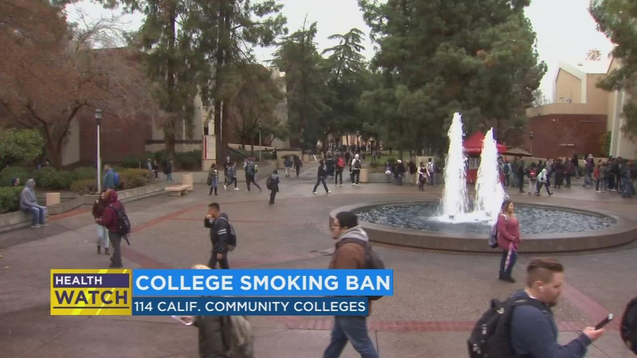 California community colleges will soon be smoke and tobacco free