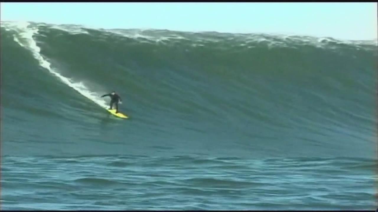 Surfs up forever in California