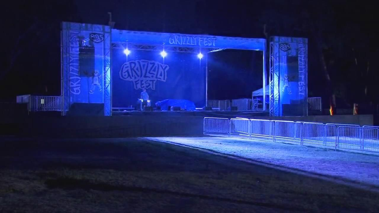 Final preparations for Grizzly Fest