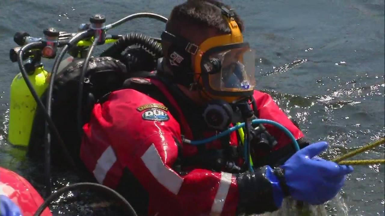 Swift water rescue teams from across California train in Tulare County