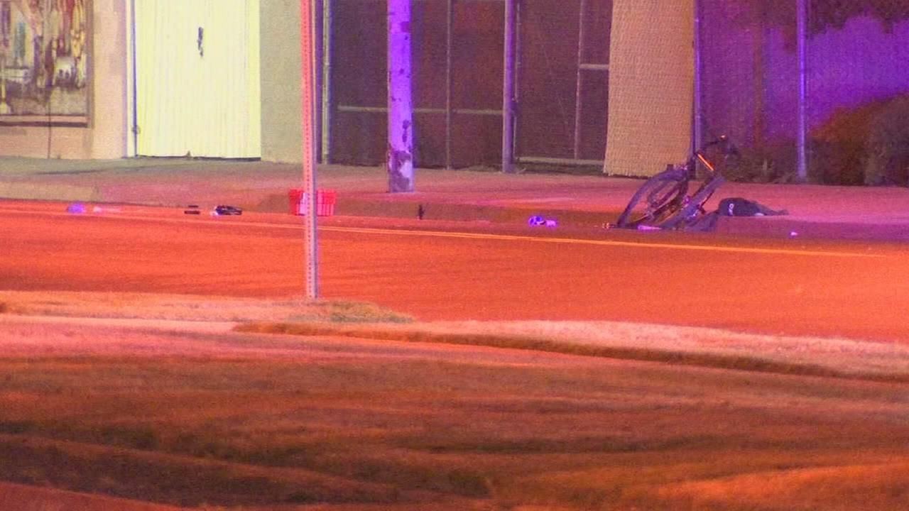 Bicyclist dead after being hit by a car in Central Fresno