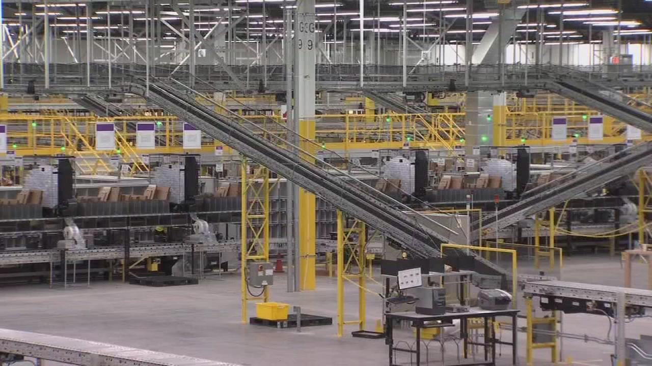 First look inside Amazons new Fresno facility