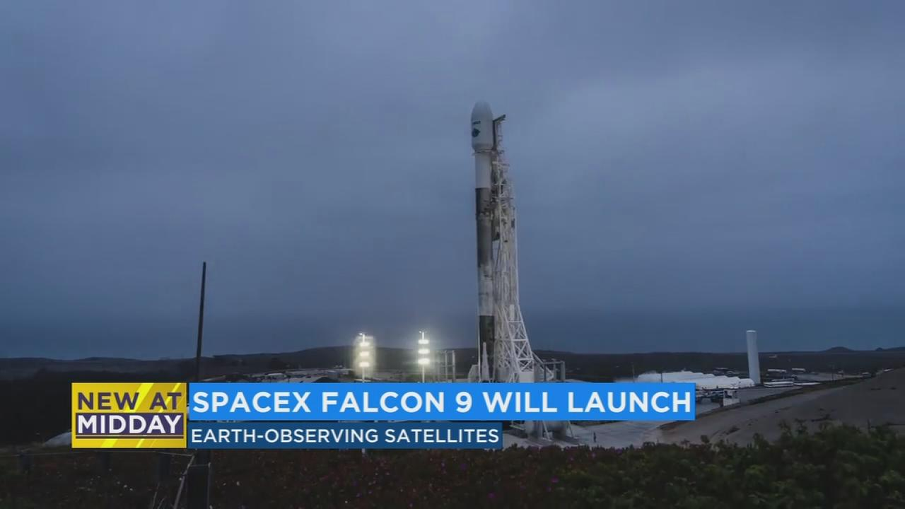 Space-X launching satellites to study the effects of climate change