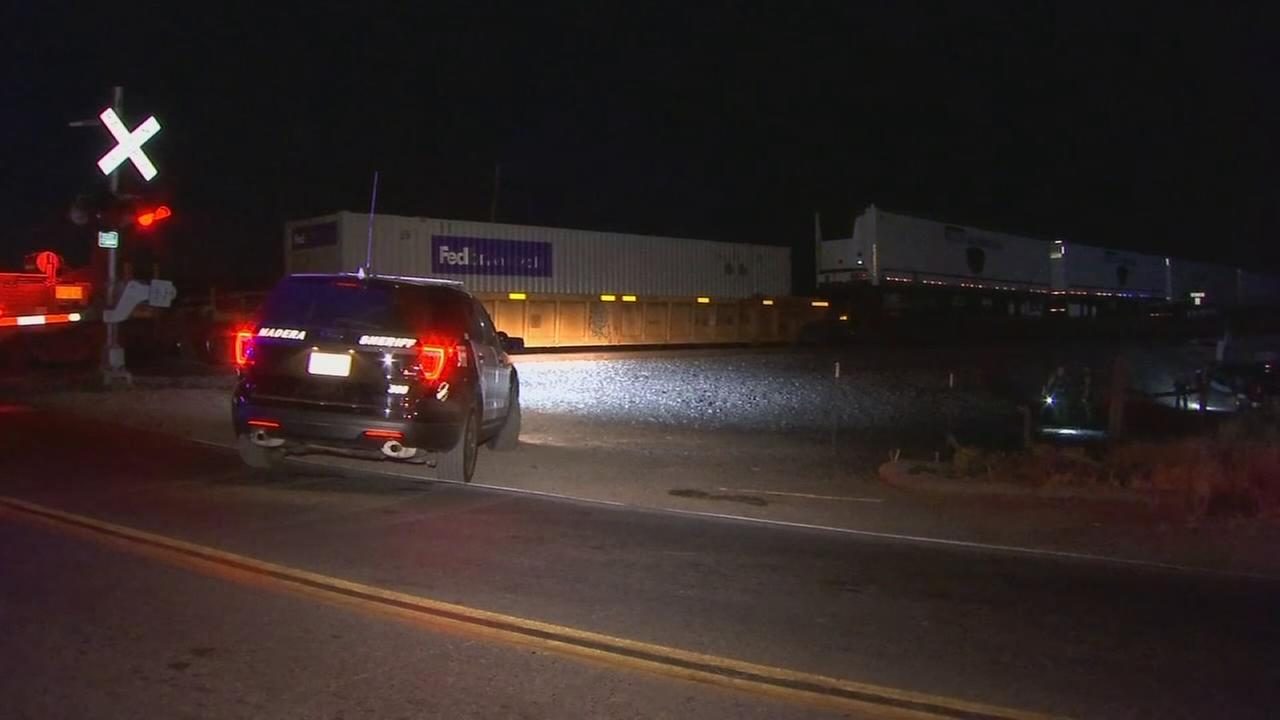 Man hit and killed by train in Madera County