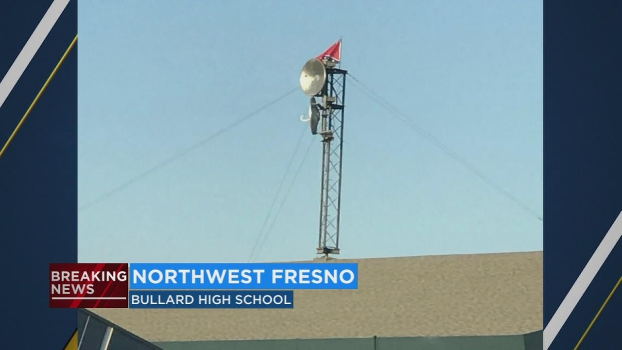 Police investigating vandalism at Bullard High School