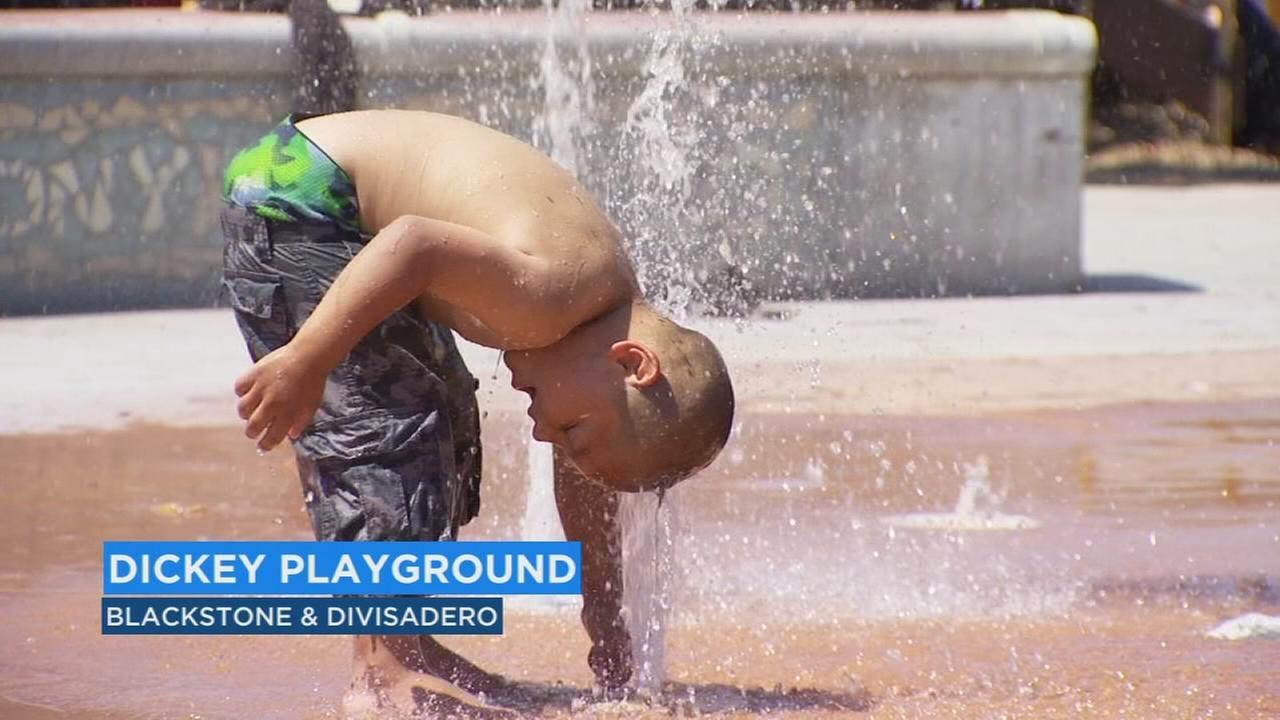 Fresno splash park locations