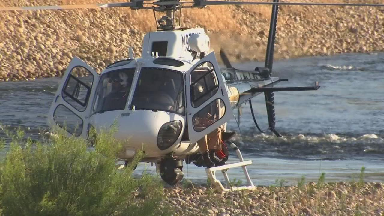 Rescuers save teen girl clinging to tree branch after falling into Kings River