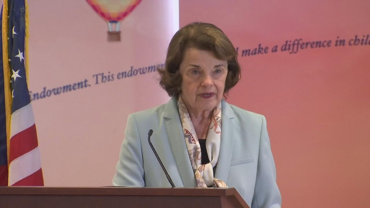 Senator Feinstein visits Valley Childrens Hospital