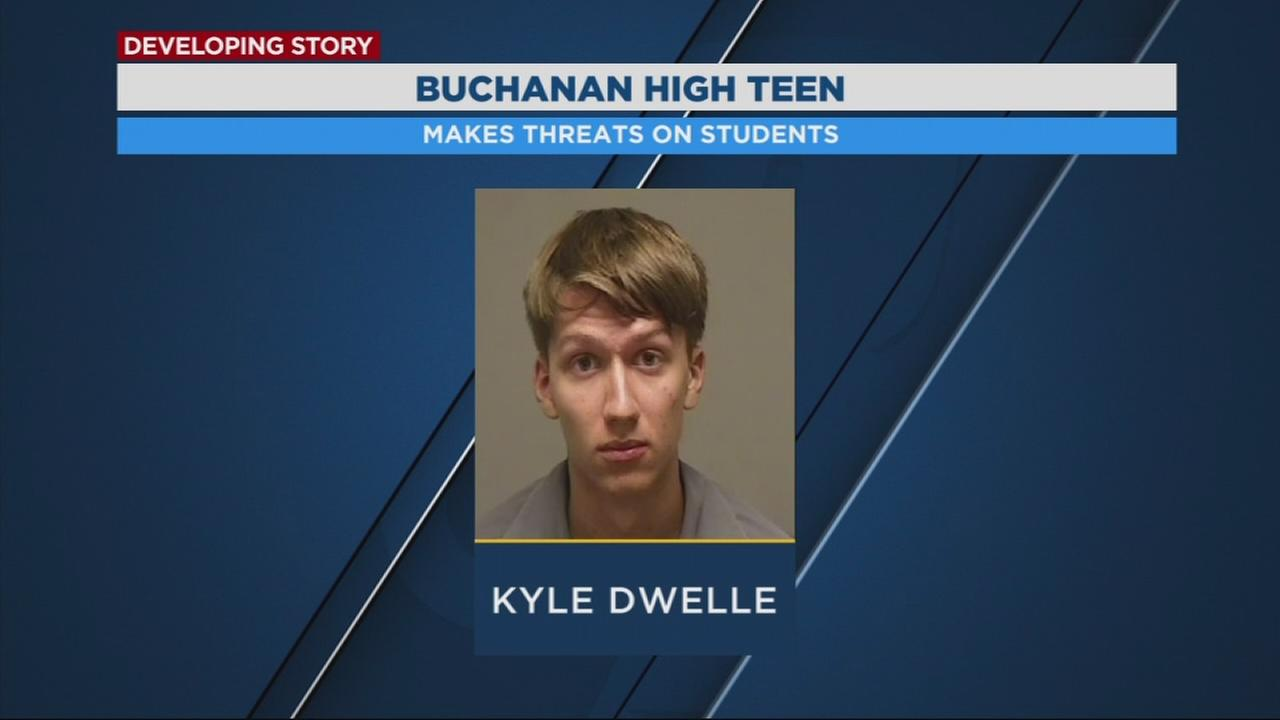 Buchanan High student arrested for making threats towards other students at his school