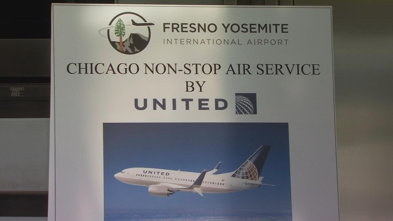New non-stop flights from Fresno to Chicago take off from FYI