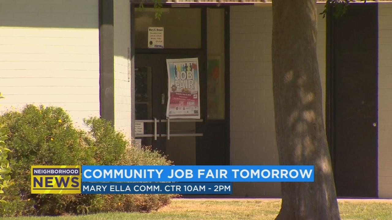 Job fair in Southwest Fresno