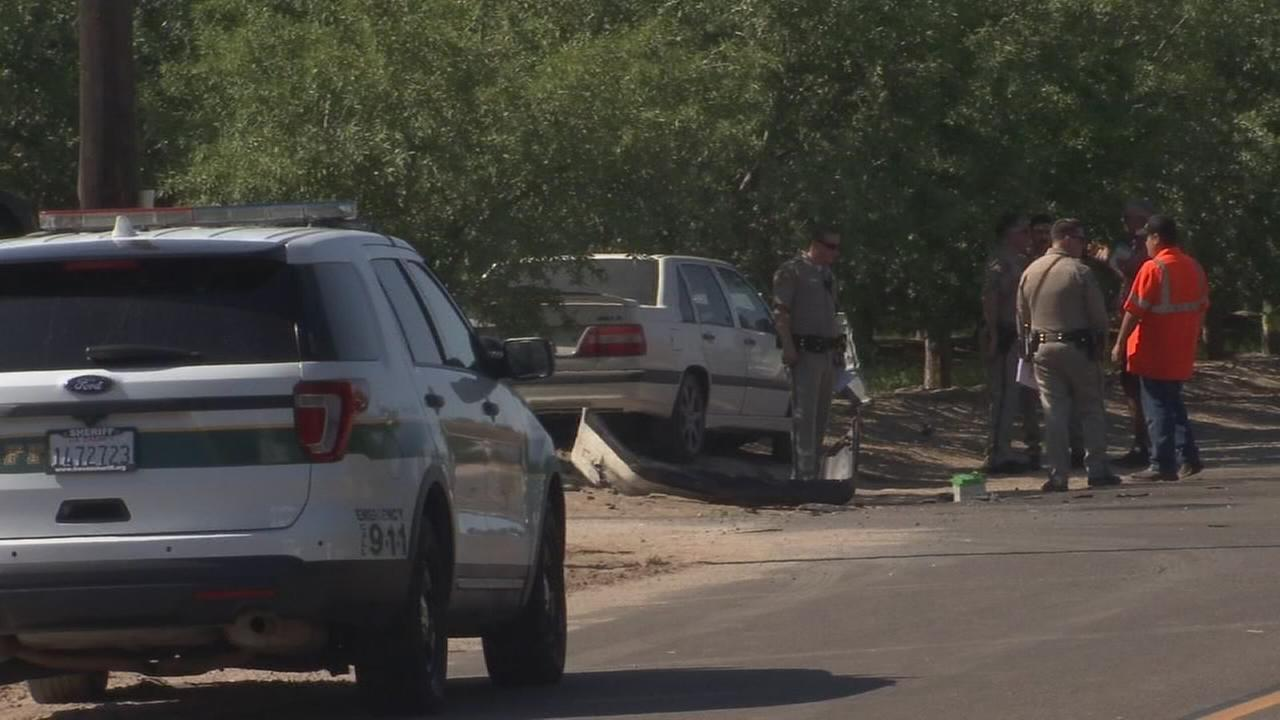 Officials identify victims killed in double fatal car crash in Kerman