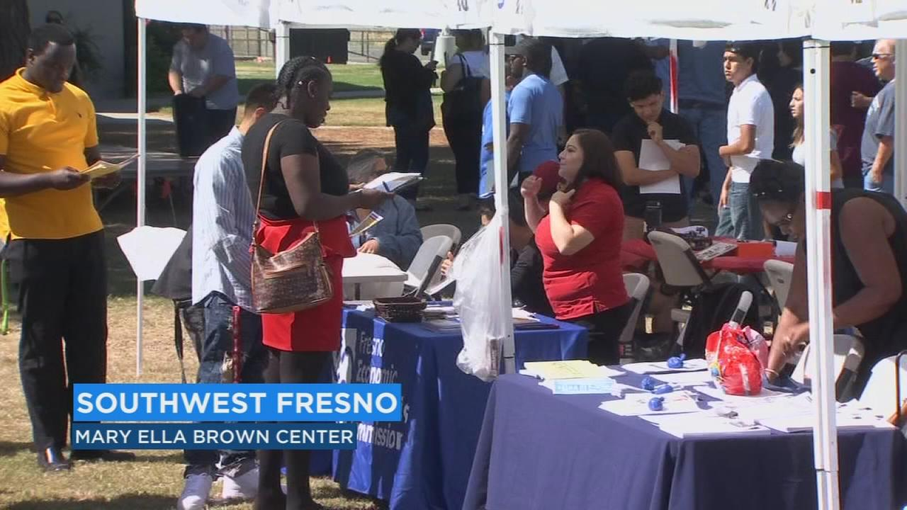 Fresno Police Department hosts job fair