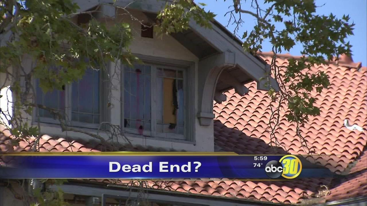 Haunted Wolfe Manor Mansion In Clovis To Be Demolished Abc30com