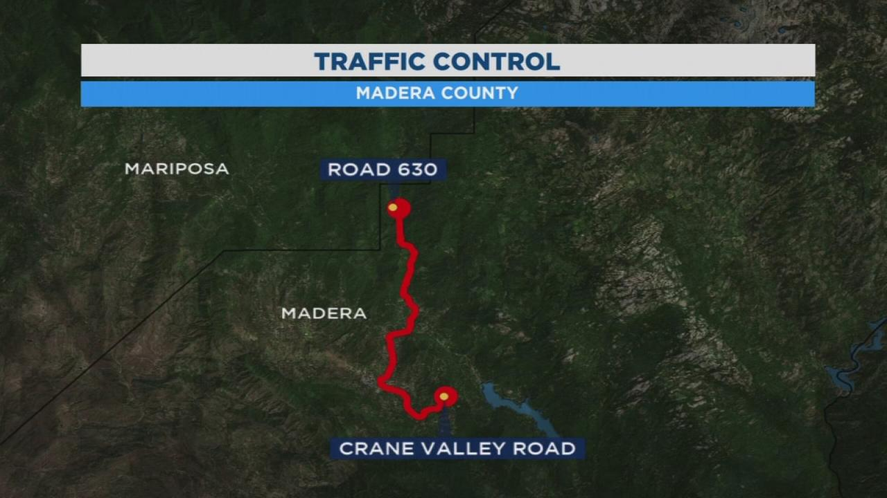 Planned roadwork on Highway 41 near Oakhurst in Madera, expect delays