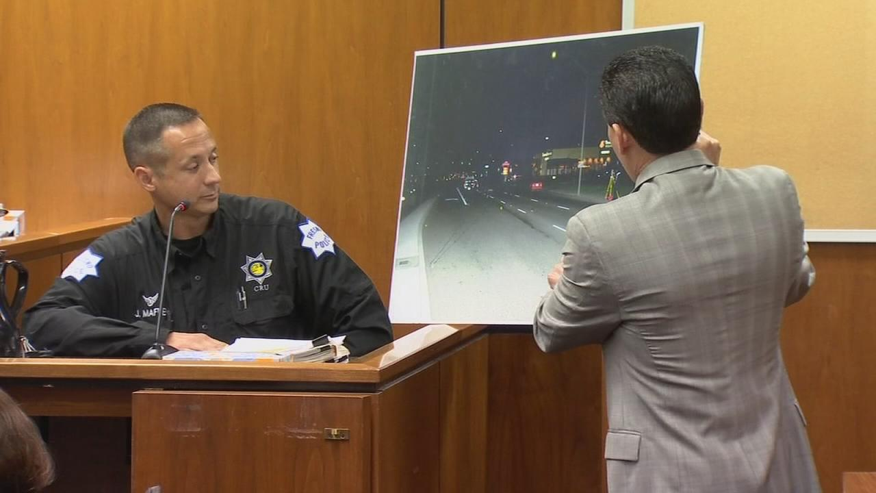 Investigator of deadly crash grilled on the stand