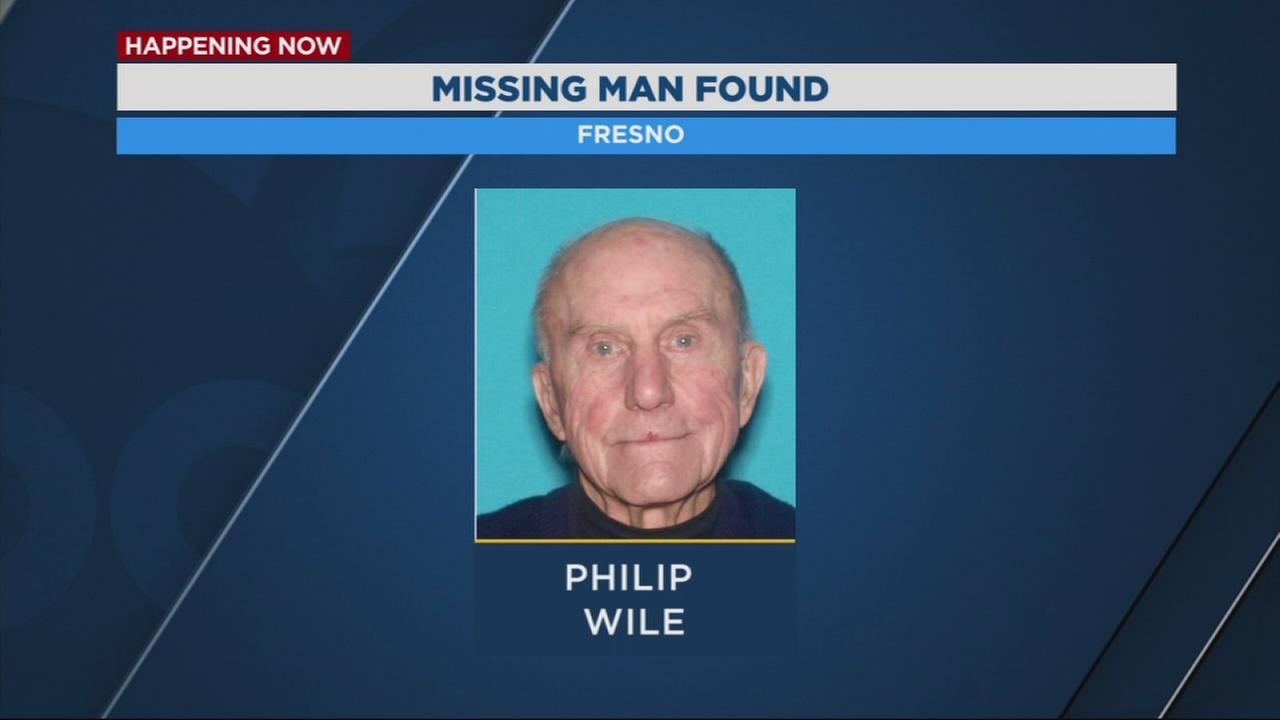 Man missing from Fresno found safe