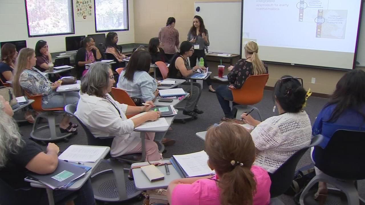 Educators focus on early mathematics