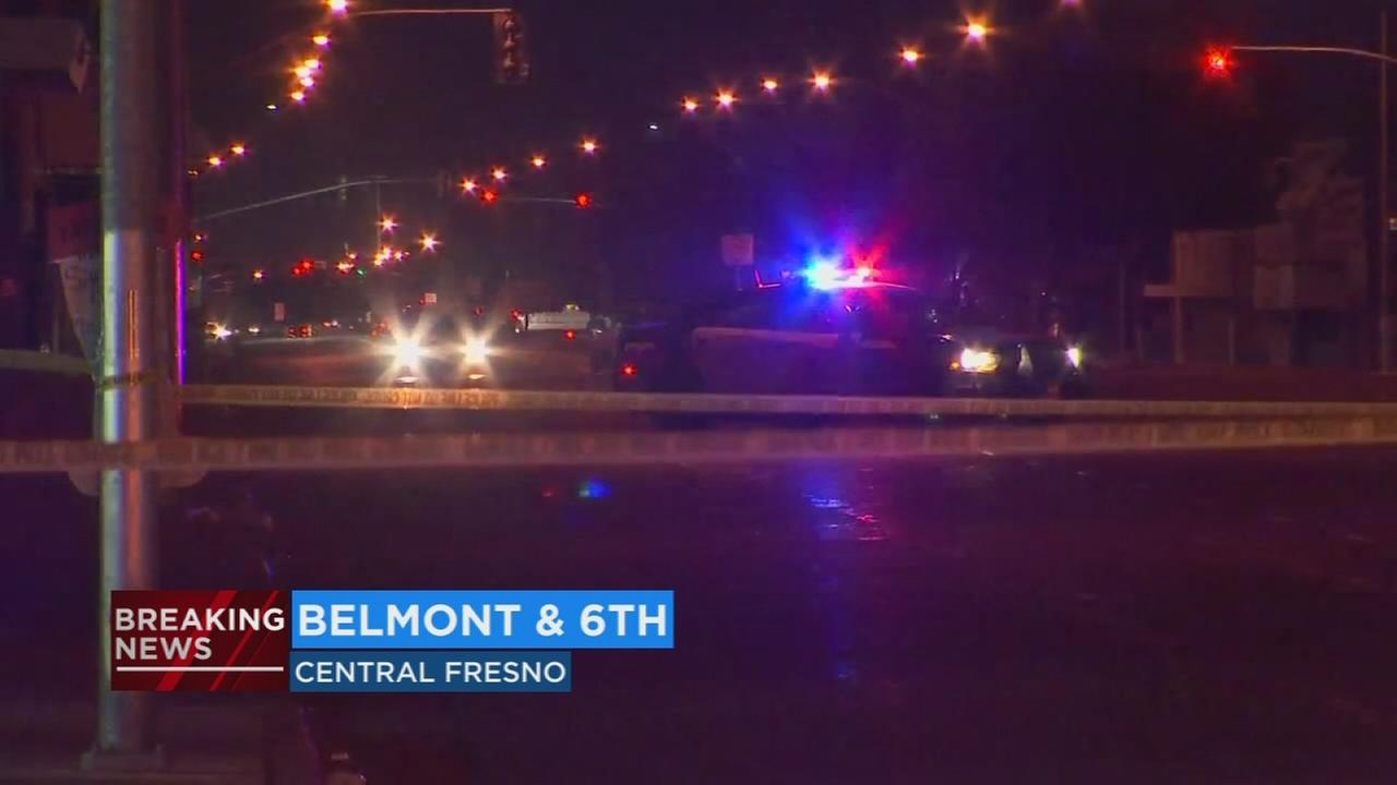 Fresno Police investigating shooting in Central Fresno, streets reopened