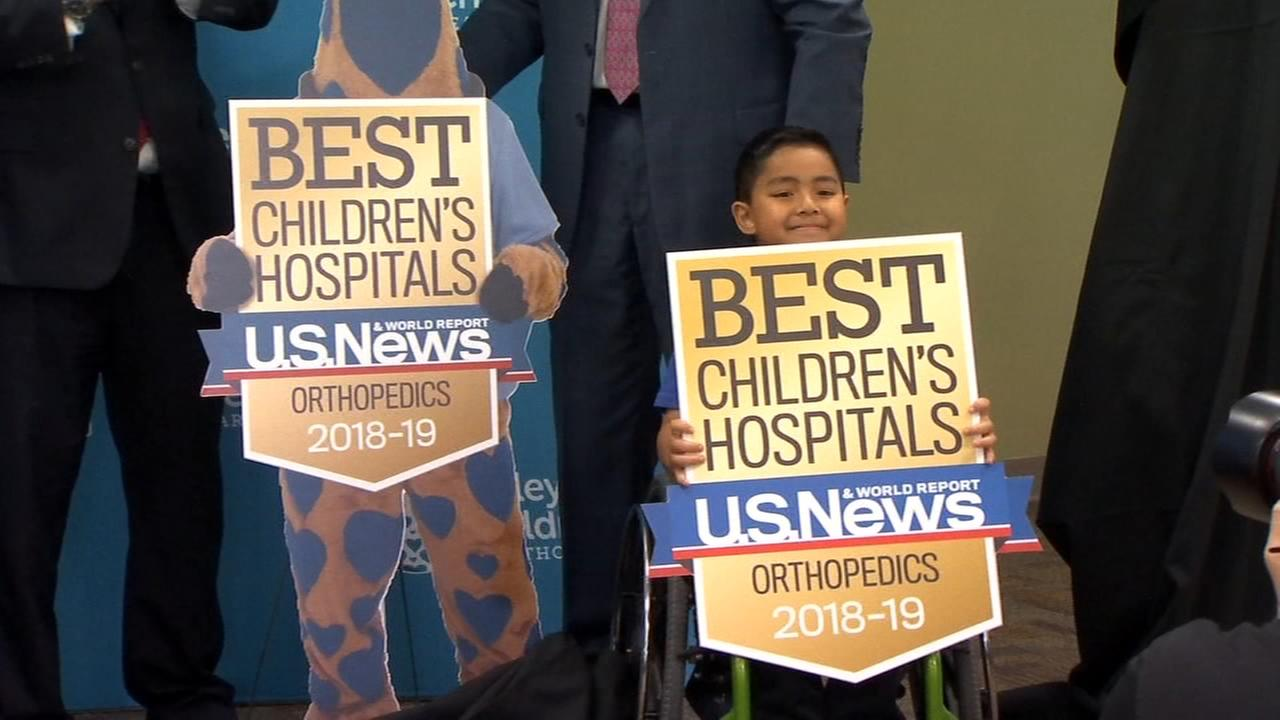 Valley Childrens Hospital ranked one of the best in the country in four specialty areas