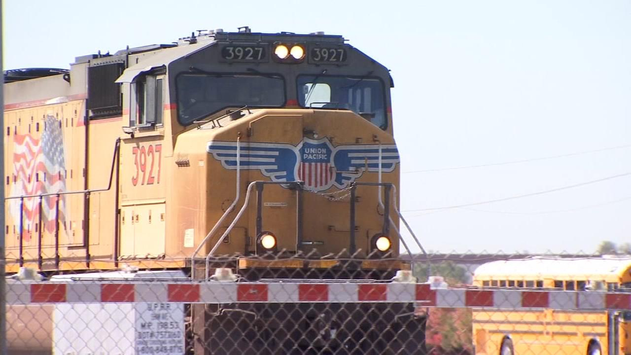 Fresno and Union Pacific Police team up to enforce railroad rules