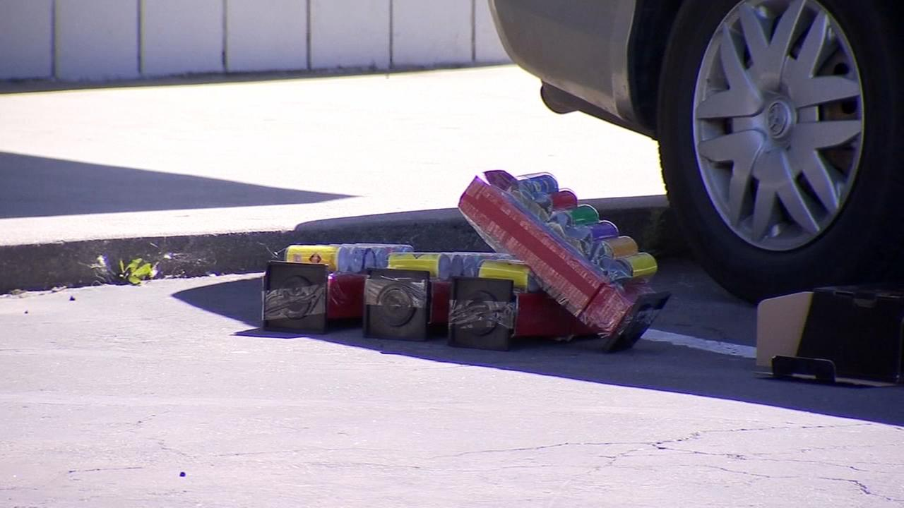 Undercover officers cracking down on illegal fireworks