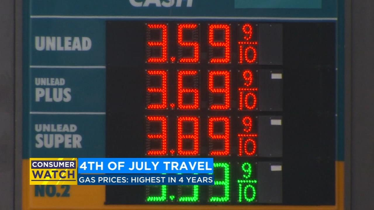 People traveling for the 4th of July should expect to pay more at the pump