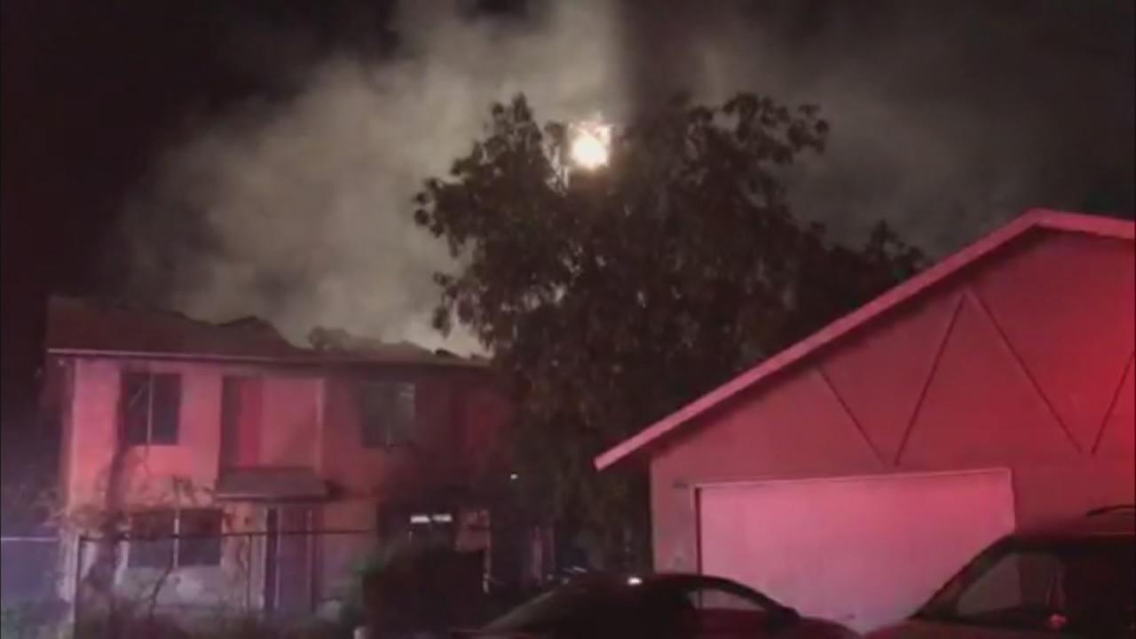 Fireworks, homeless people suspected as fire destroys southeast Fresno condo complex