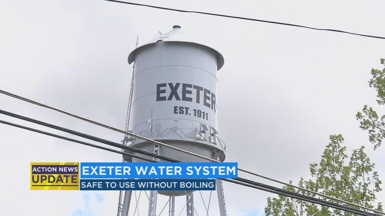 Exeter water advisory lifted