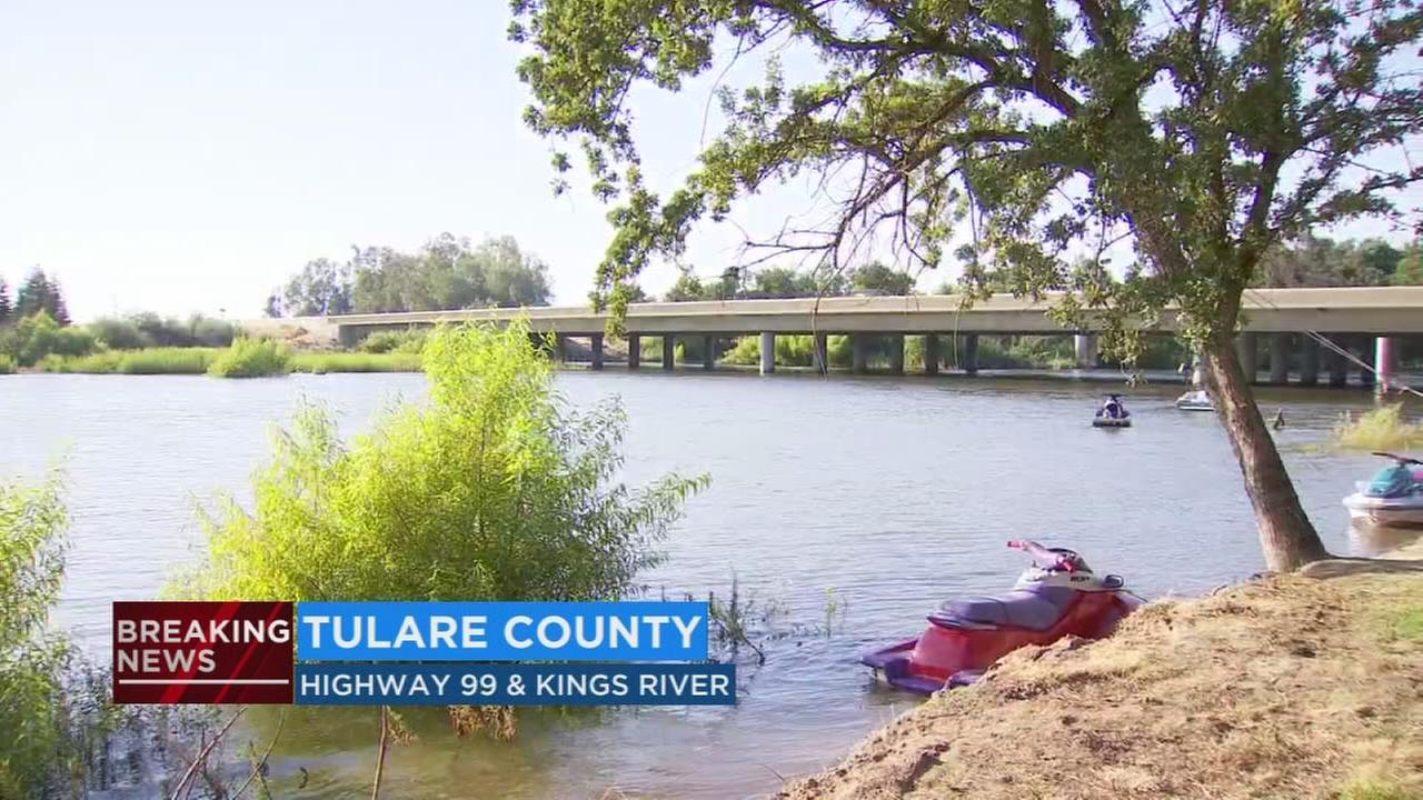 Boating accident near Kings River