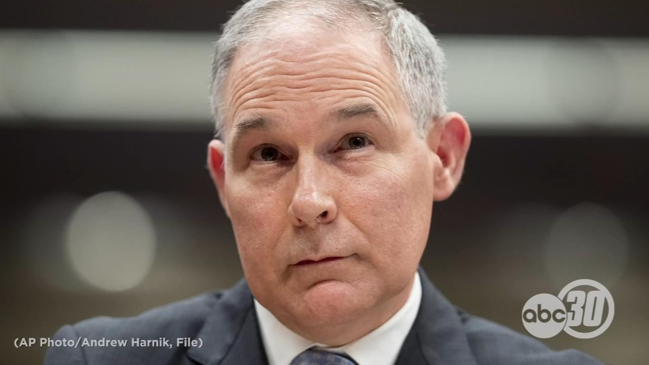 President Trump confirms EPA Administrator Scott Pruitt has resigned
