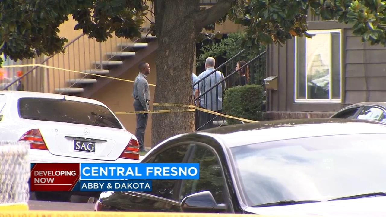 Police search for suspect after man killed in Central Fresno shooting