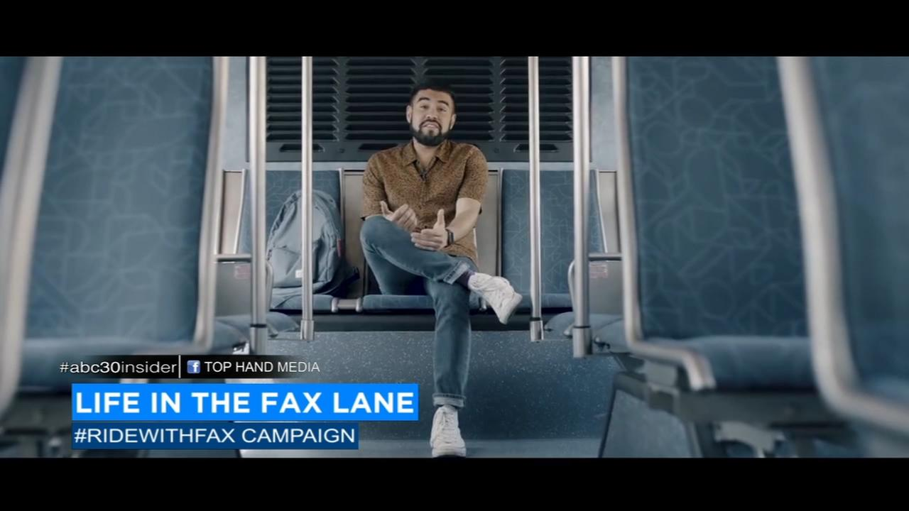 New campaign hoping to inspire people to ride Fresno FAX buses
